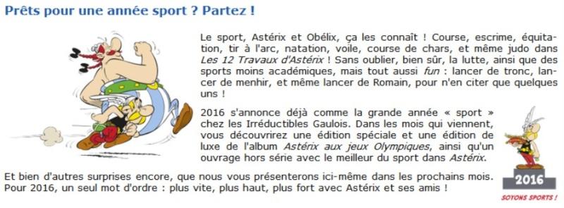 Le meilleur d'Astérix et d'Obélix - Vive le sport Sport11