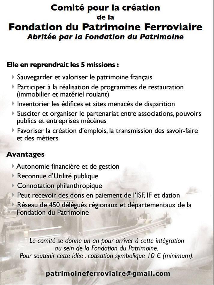 Fondation du Patrimoine Ferroviaire 12278810