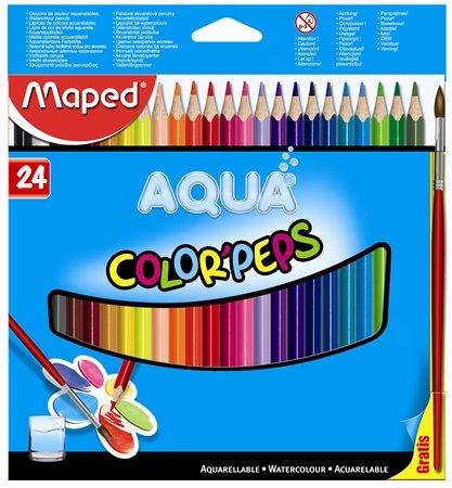 Crayons Color'Peps Aqua Farbic10