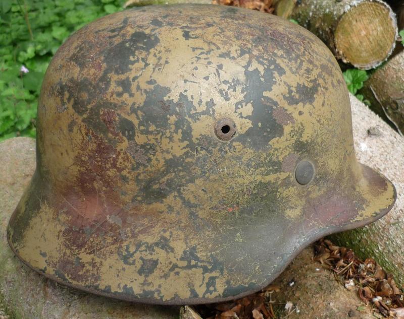Avis sur ce casque allemand camouflé. - Page 3 P1100310