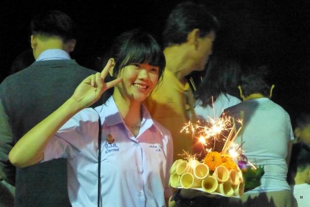 Fête du Loy Kratong, ou la fête des lumières P1110116