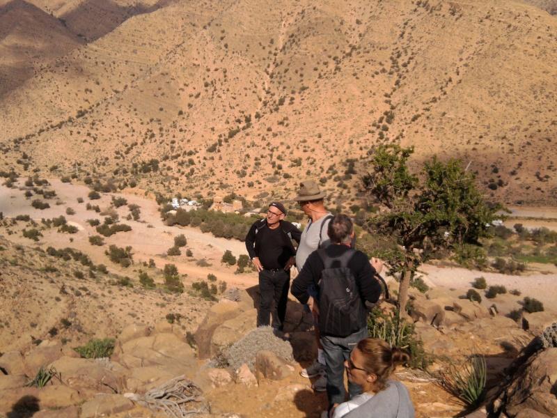 Randonnée au dessus du Camping de la Vallée chez Paul Abeynou. Photo218