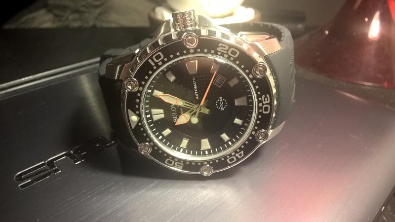 Ma première Automatique: Bulova Marine Star 98B209, fraîchement reçue :) Wp_20122
