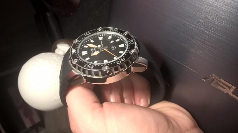 Ma première Automatique: Bulova Marine Star 98B209, fraîchement reçue :) Wp_20126