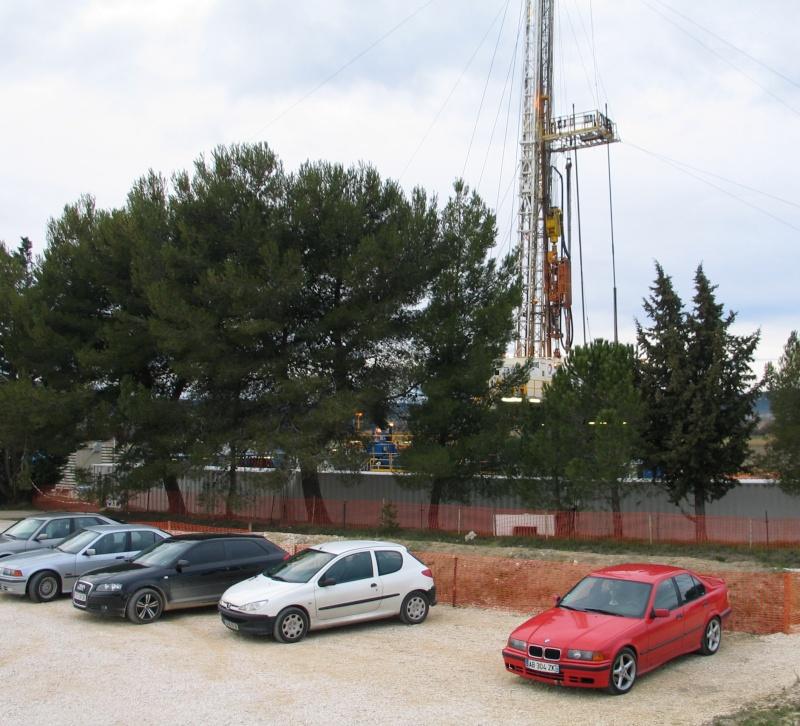 du gaz de schiste à Saint Dionisy (près de Vergèze) ? ou de l'archéologie ? Total_11