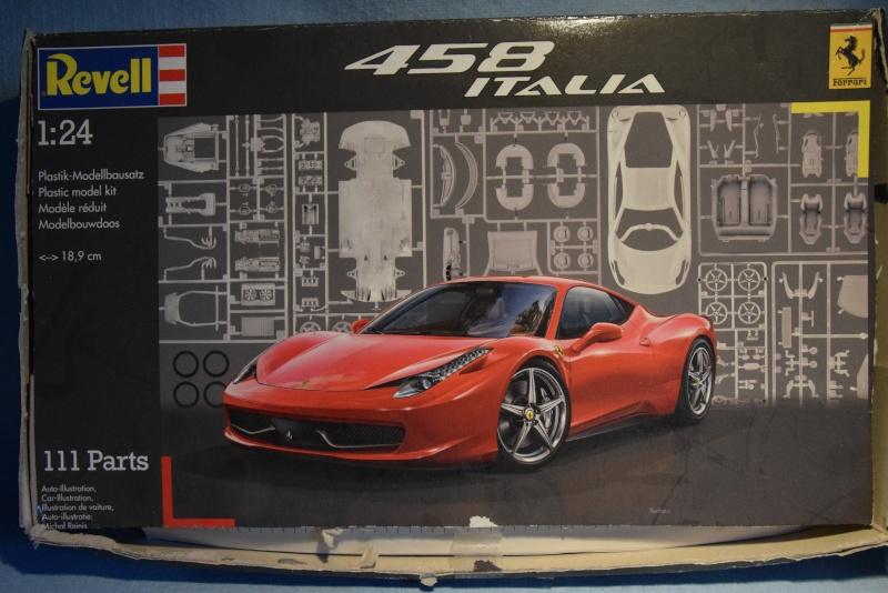 Ferrari 458 Italia - 1/24 - Revell 00112