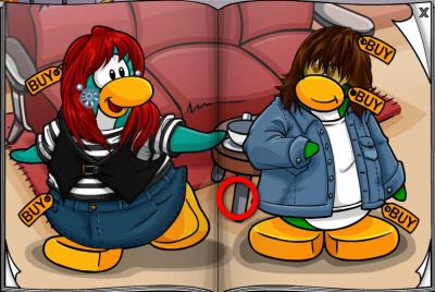 New Club Penguin March 2011 Clothing Catalog Cheats! Flower10