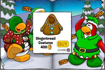 New Club Penguin March 2011 Clothing Catalog Cheats! Ginger10