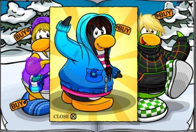 New Club Penguin March 2011 Clothing Catalog Cheats! Her10