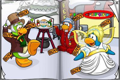 New Club Penguin March 2011 Clothing Catalog Cheats! Lights10