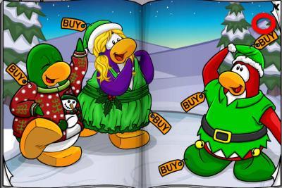 New Club Penguin March 2011 Clothing Catalog Cheats! Mounta10