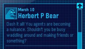 New Club Penguin EPF Message From Herbert! Nepfmf10