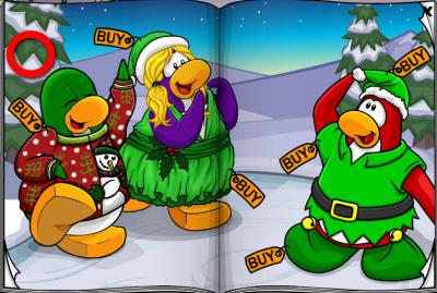 New Club Penguin March 2011 Clothing Catalog Cheats! Pages10