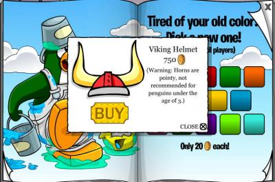 New Club Penguin March 2011 Clothing Catalog Cheats! Pictur10