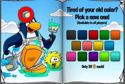 New Club Penguin March 2011 Clothing Catalog Cheats! Red-he11