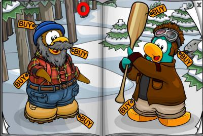 New Club Penguin March 2011 Clothing Catalog Cheats! Scarf10