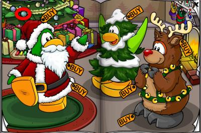 New Club Penguin March 2011 Clothing Catalog Cheats! Shoes10