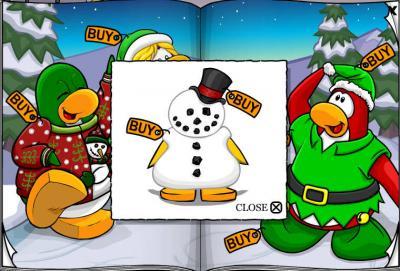 New Club Penguin March 2011 Clothing Catalog Cheats! Snowma10