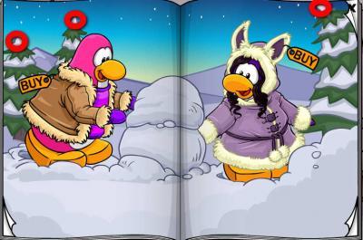 New Club Penguin March 2011 Clothing Catalog Cheats! Three10