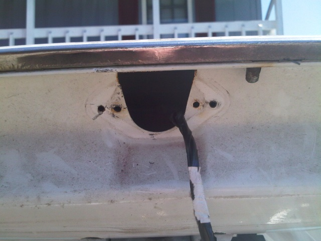 Trunk lock relocation / Shaved trunk lid Img00043