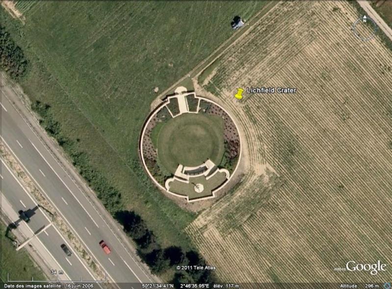 """Vestiges de la """"guerre des mines"""" (Première Guerre Mondiale) visibles dans Google Earth - Page 2 Entonn12"""