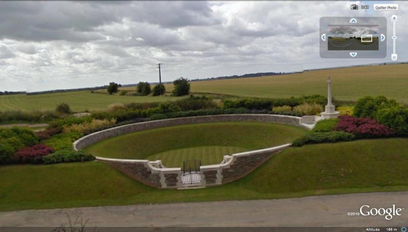 """Vestiges de la """"guerre des mines"""" (Première Guerre Mondiale) visibles dans Google Earth - Page 2 Entonn13"""