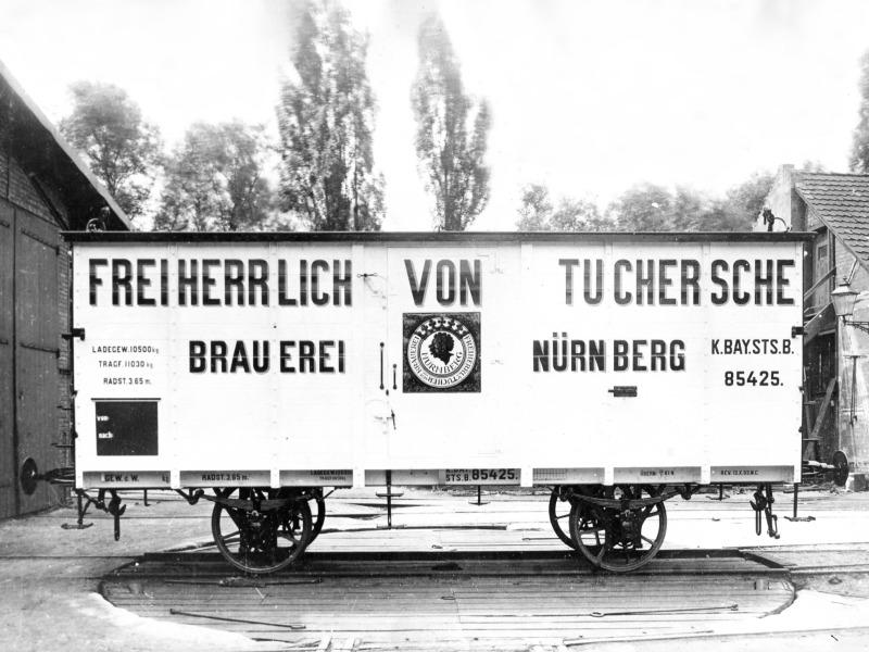 Güterwagen Epoche I Bierwa10