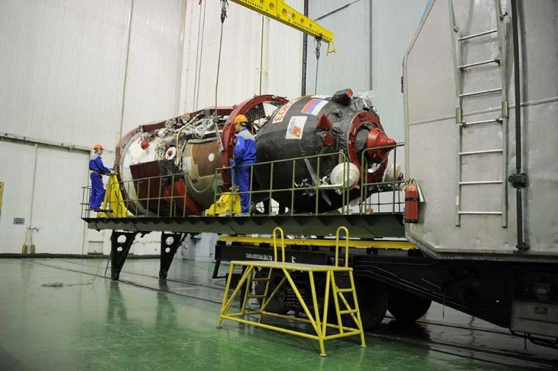 Soyouz-FG (Soyouz TMA-19M) - Baï - 15.12.2015 Soyuz-29