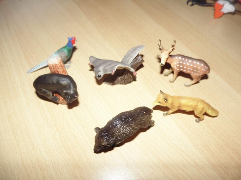 The Eikoh Miniaturplanet animals in my zoo Dsci0566