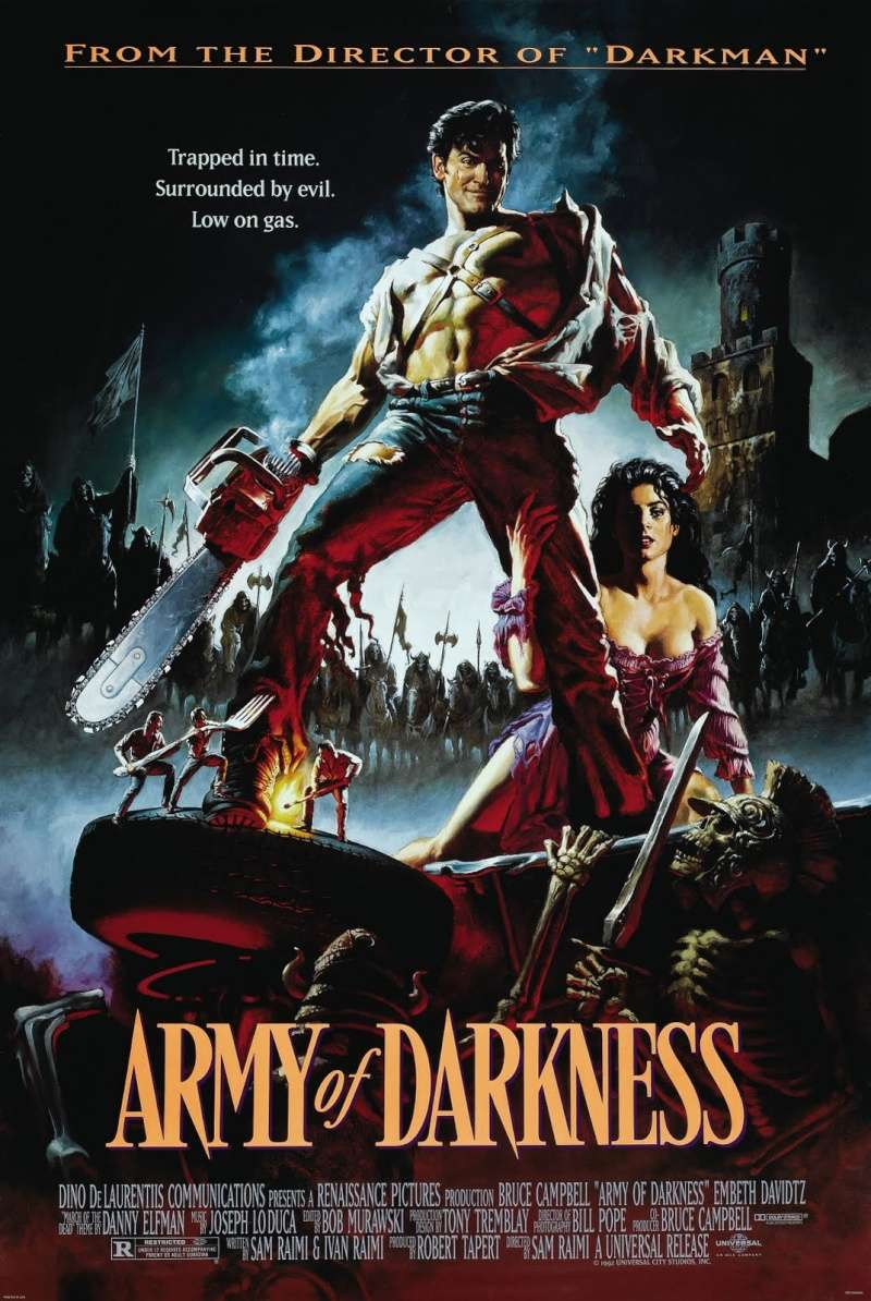 Evil Dead 3 : Army of Darkness Affich10
