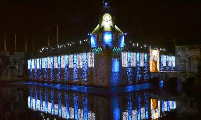 Les illuminations de Noël pour les fêtes 2.015   2.016 ! - Page 3 Concar11