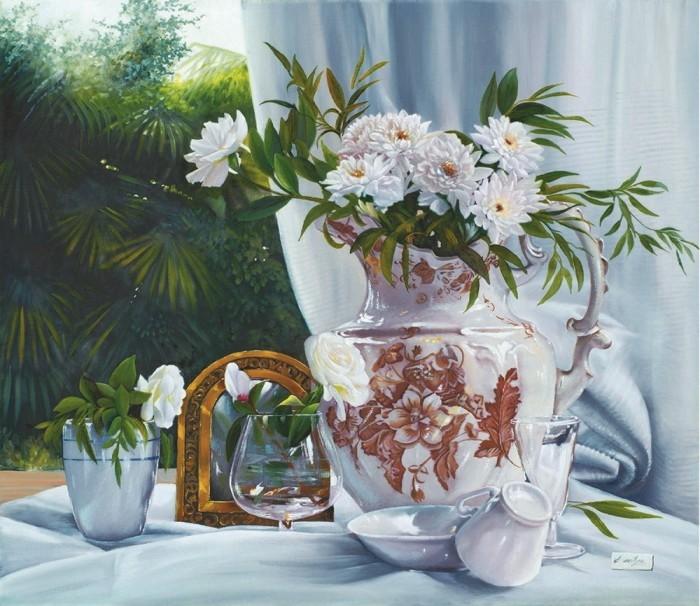 Les FLEURS  dans  L'ART Danka110