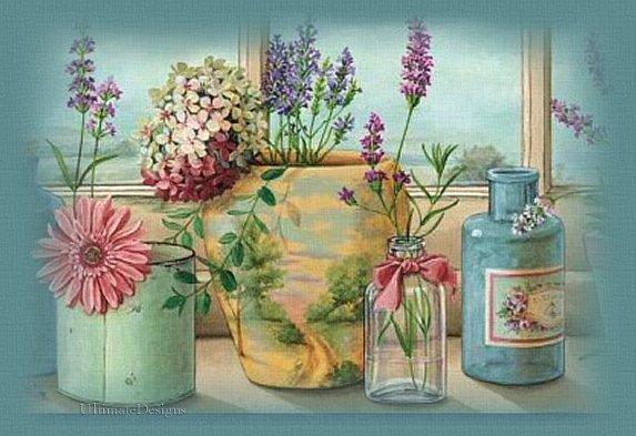 Les FLEURS  dans  L'ART - Page 6 Flores10