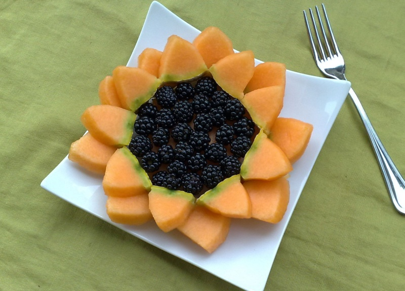 Fleurs,....fruit,.....tout ce qui se mange,...se boit....ou qui vient de la nature.......... - Page 5 Melon-10