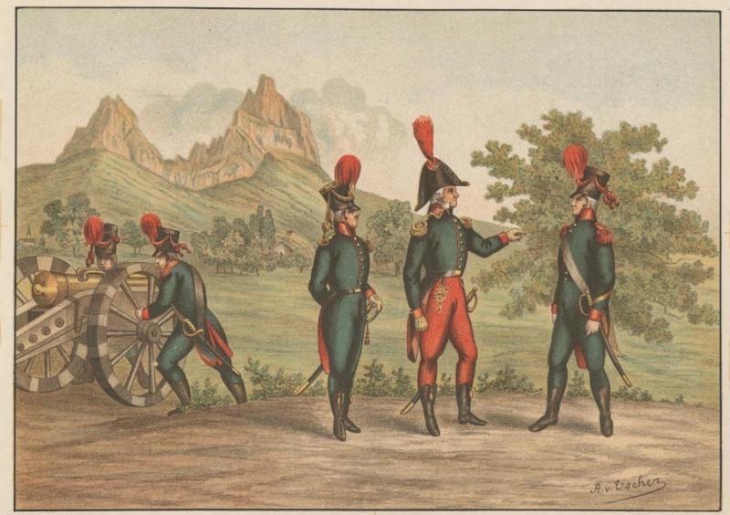 Milice canton de Schwyz  Artill10