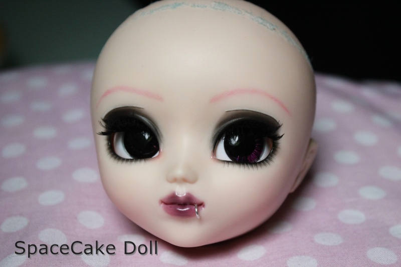 SpaceCake Doll °• Commissions make-up Pullip/BJD Img_8110