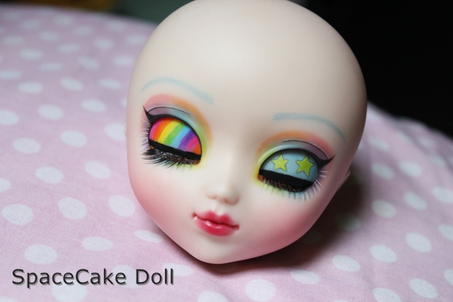 SpaceCake Doll °• Commissions make-up Pullip/BJD Img_8111