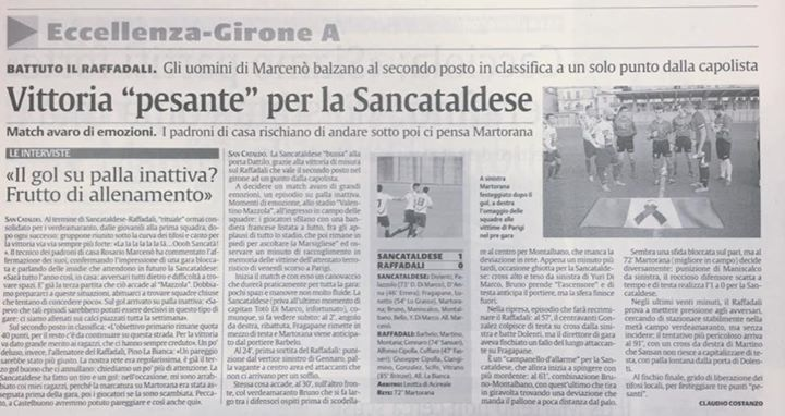 Campionato 10°giornata: Sancataldese - raffadali 1-0 12115710