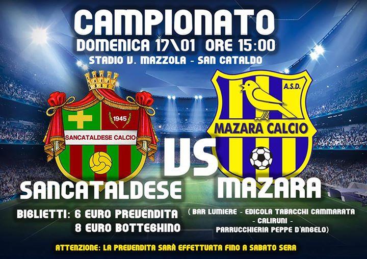 Campionato 18°giornata: Sancataldese - mazara calcio 1-0 12509810