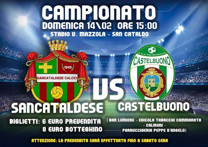 Campionato 22°giornata: Sancataldese - pol. castelbuono 1-1 12670410