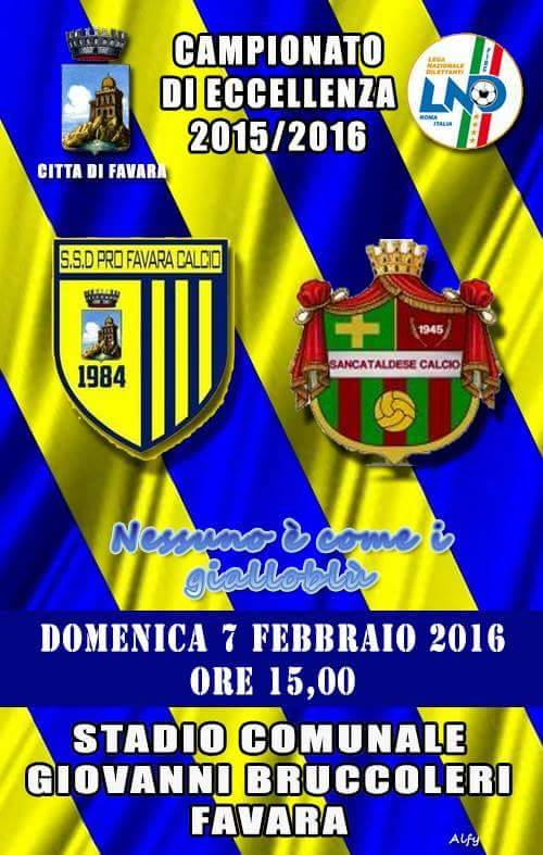 Campionato 21°giornata: pro favara - Sancataldese 1-1 12687810