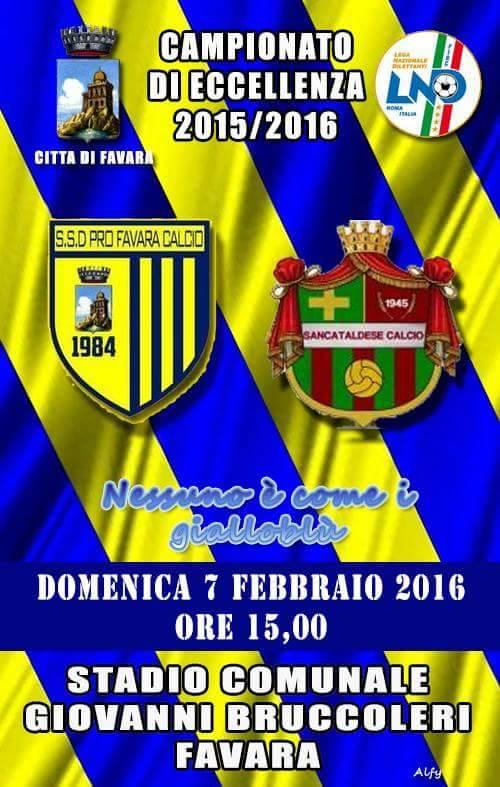 Campionato 21°giornata: pro favara - Sancataldese 1-1 12687811