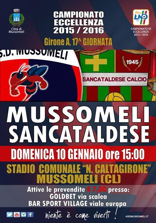 Campionato 17°giornata: mussomeli - Sancataldese 0-0 9571_712