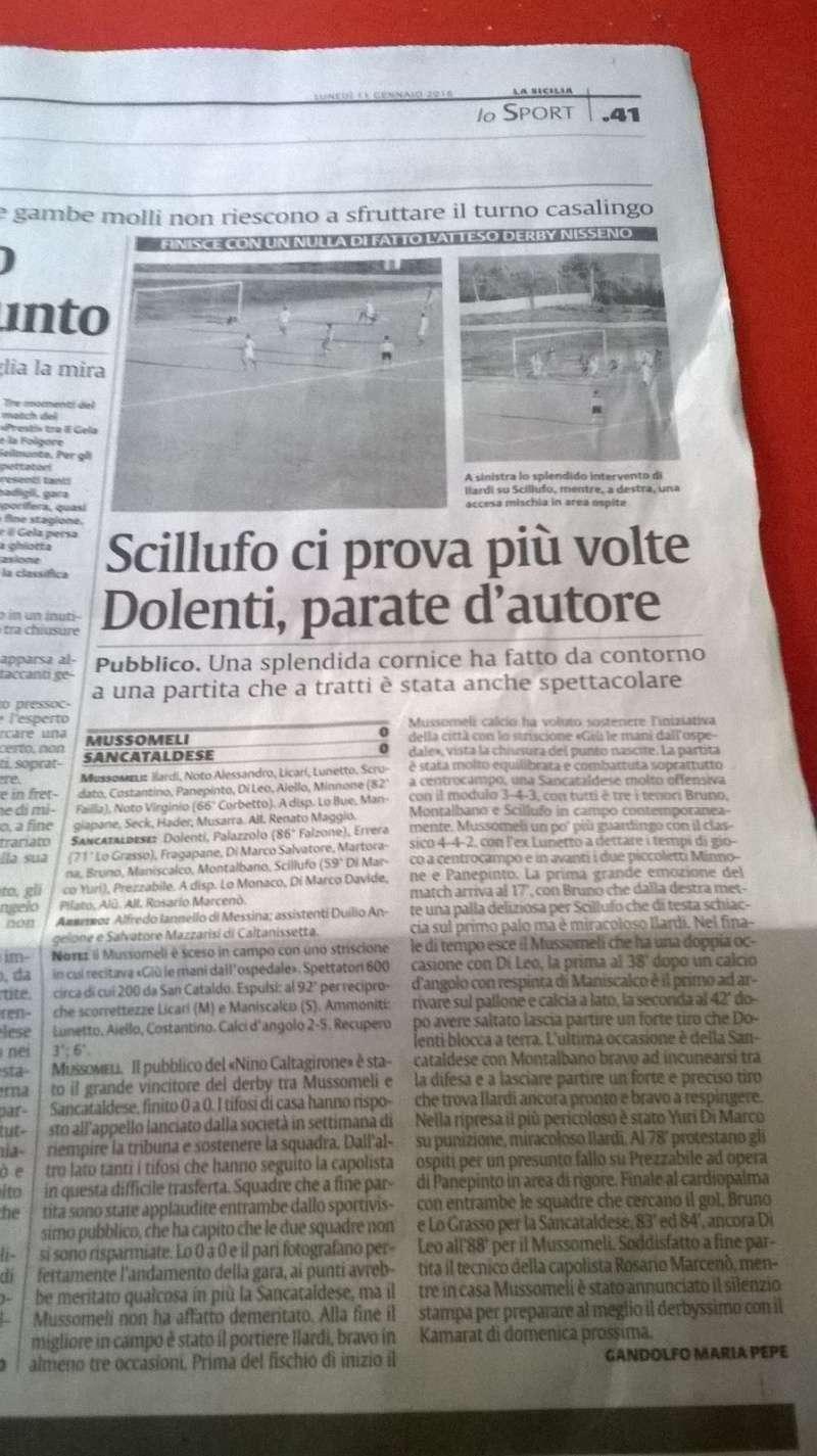 Campionato 17°giornata: mussomeli - Sancataldese 0-0 Img-2017