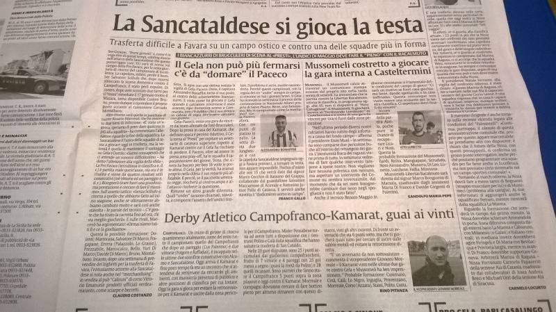 Campionato 21°giornata: pro favara - Sancataldese 1-1 Img-2021