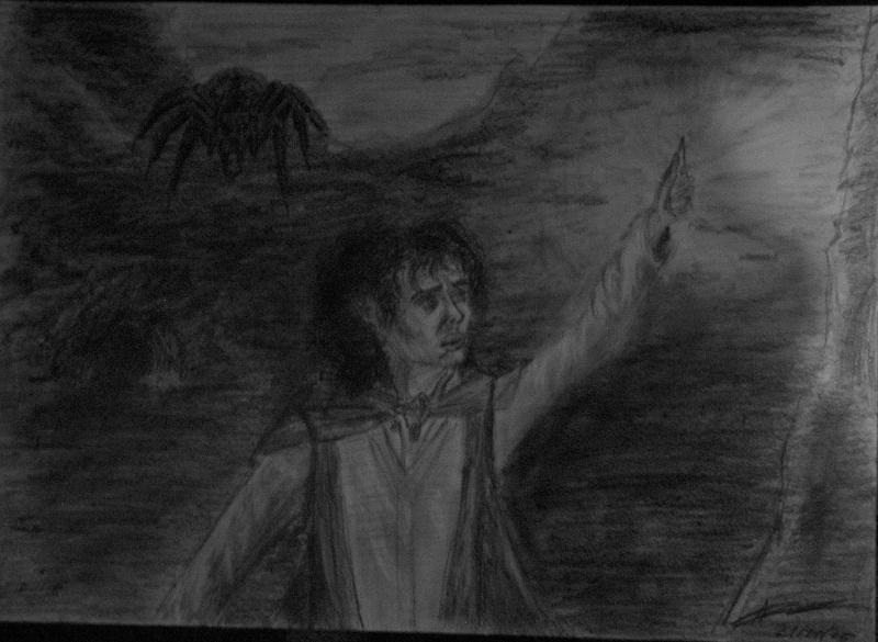 Concours de dessin n°3 : Sda/Hobbit  - Page 2 Frodon11