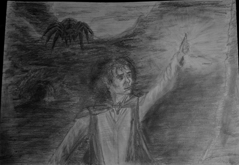 Concours de dessin n°3 : Sda/Hobbit  - Page 2 Frodon13