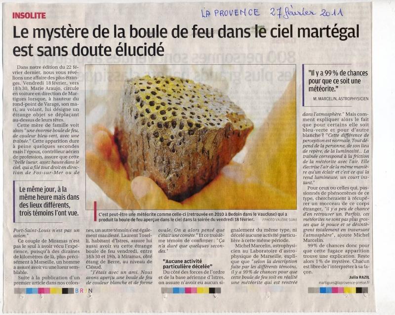 2011: Le 18/02 vers 19h05 nord d'Aix en Provence (13) La_pro10