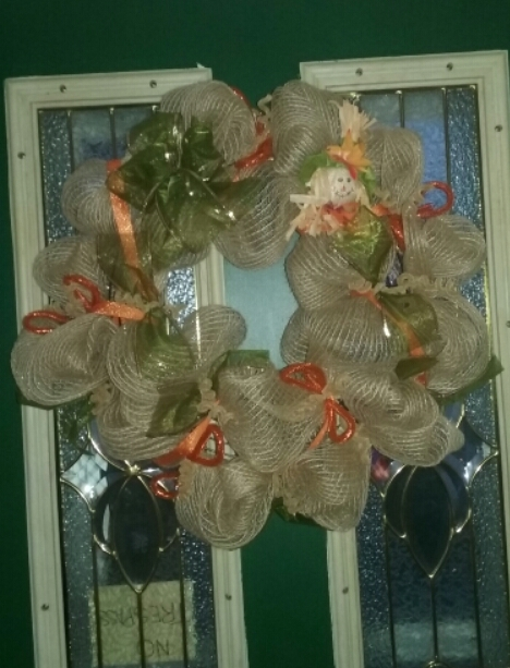 Deco Mesh Wreaths Fall_w11