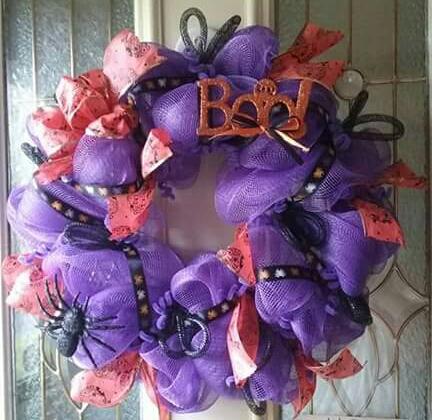 Deco Mesh Wreaths Hallow11